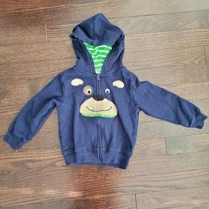 ✅ Boys Carters 18 m zip up hoodie